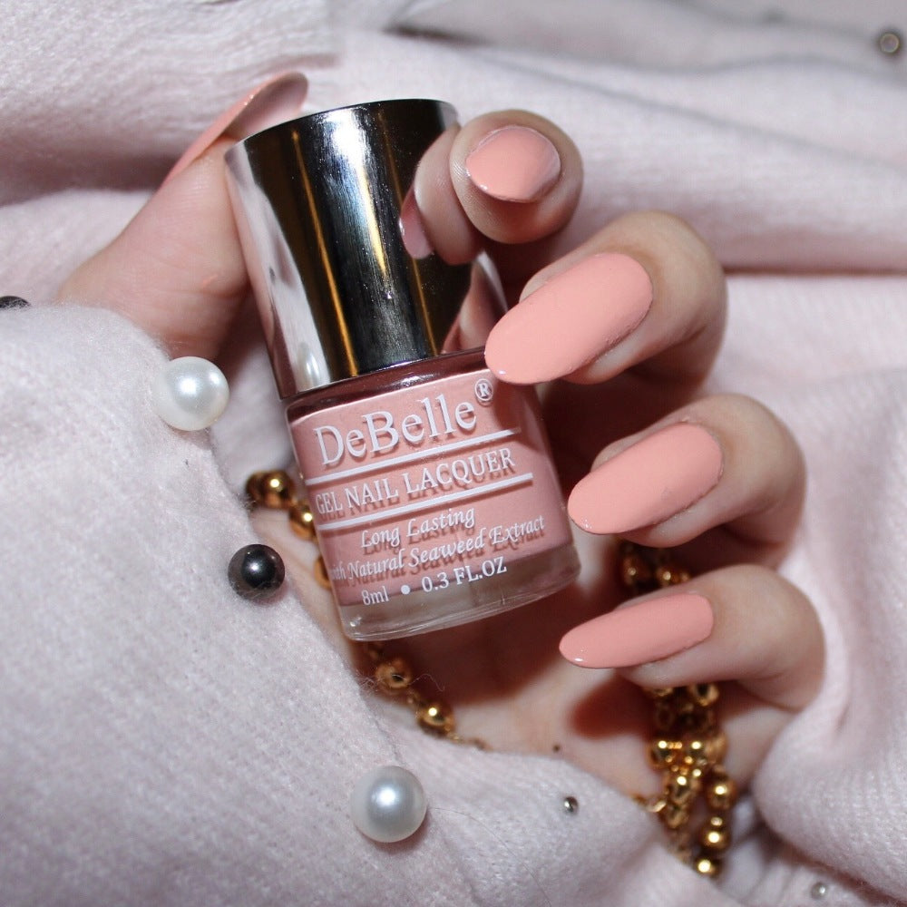 Choco latte - light pink nail polish in india