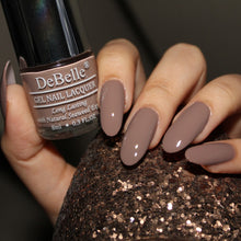 Load image into Gallery viewer, Affordable light brown nail polish in india - best nail polish for work