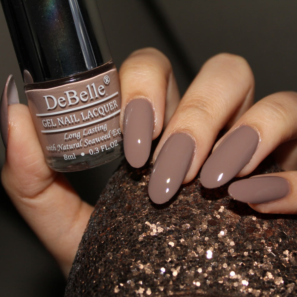Affordable light brown nail polish in india - best nail polish for work