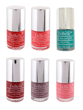 Load image into Gallery viewer, DeBelle Gel Nail Lacquer Combo Set of 6 8ml bottles