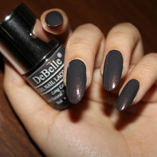 Load image into Gallery viewer, Dark grey nail polish in india online