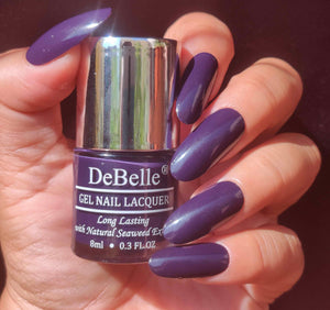 Deep violet nail polish shade india