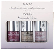 Load image into Gallery viewer, DeBelle Mademoiselle Collection Gift Set Laura Aura, Natural Blush, Vintage Frost