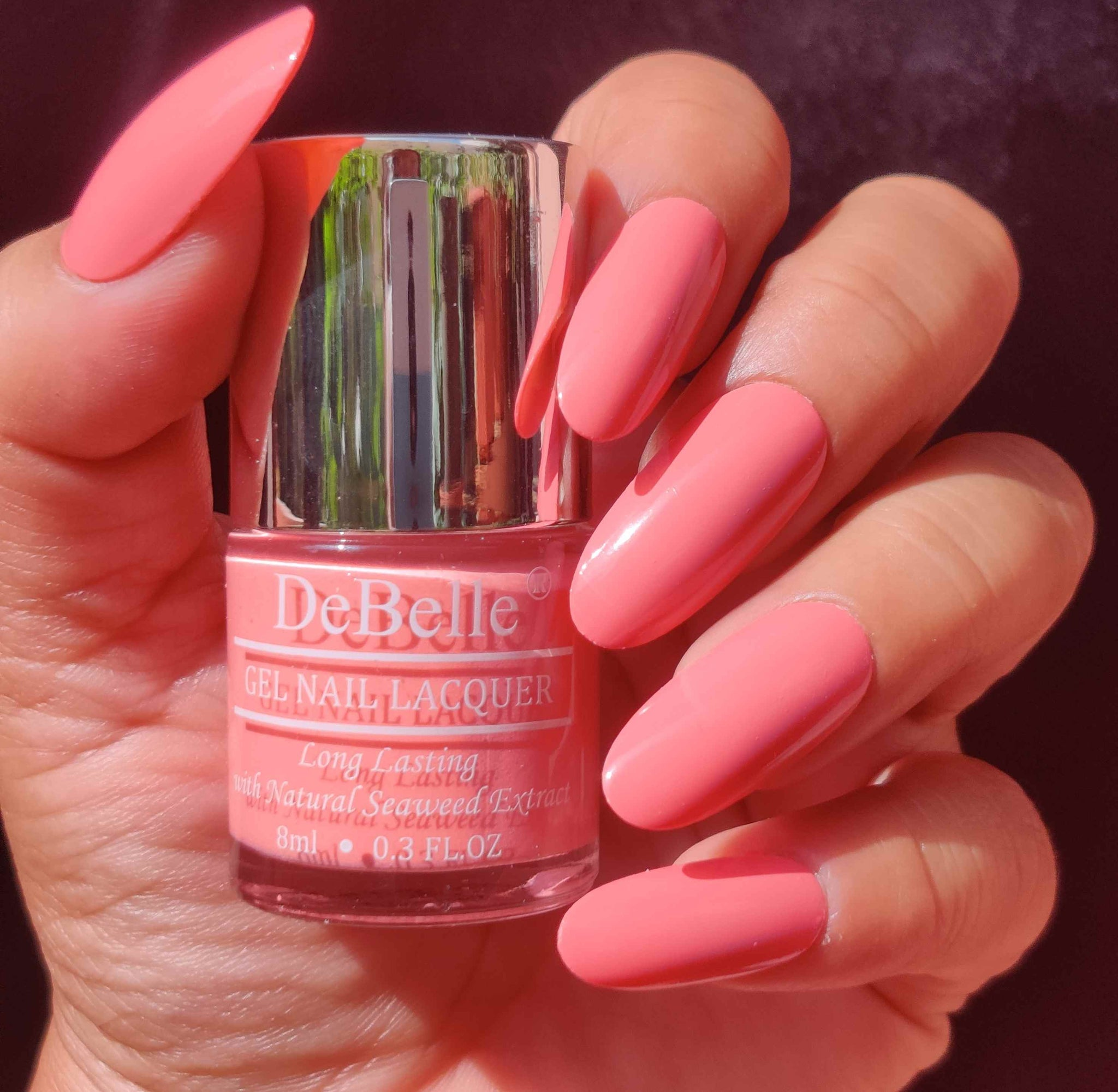 Debelle Gel Nail Lacquer De Carnation Pastel Pink Nail Polish India Debelle Cosmetix Online Store