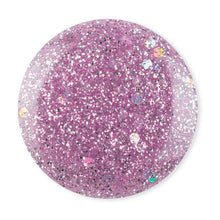 Load image into Gallery viewer, DeBelle Gel Nail Lacquer Ophelia - Galaxie Collection lavender glitter nail polish shade