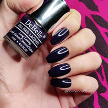 Load image into Gallery viewer, deep violet nail polish shade in India