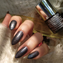 Load image into Gallery viewer, DeBelle Gel Nail Lacquers Combo Set of 2 BeBe Kiss (Hot Pink) & Grey Glitteratti (Grey Glitter), 16 ml