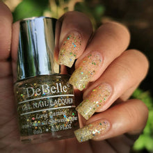 Load image into Gallery viewer, Best chunky holographic glitter nail polish india