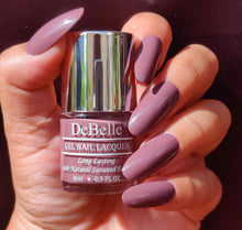 Load image into Gallery viewer, Deep mauve nail polish for work