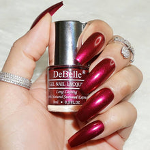 Load image into Gallery viewer, Deep Maroon Nail Polish for bride India 2021