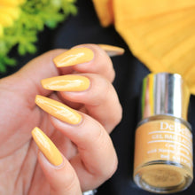Load image into Gallery viewer, Mustard yellow nail polish colour India