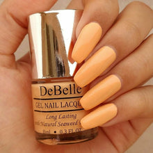 Load image into Gallery viewer, DeBelle Gel Nail Lacquer Peachy Passion  8 ml ( Peach Nail Polish) - Debelle shop