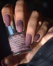 Load image into Gallery viewer, Deep mauve nail polish for office wear