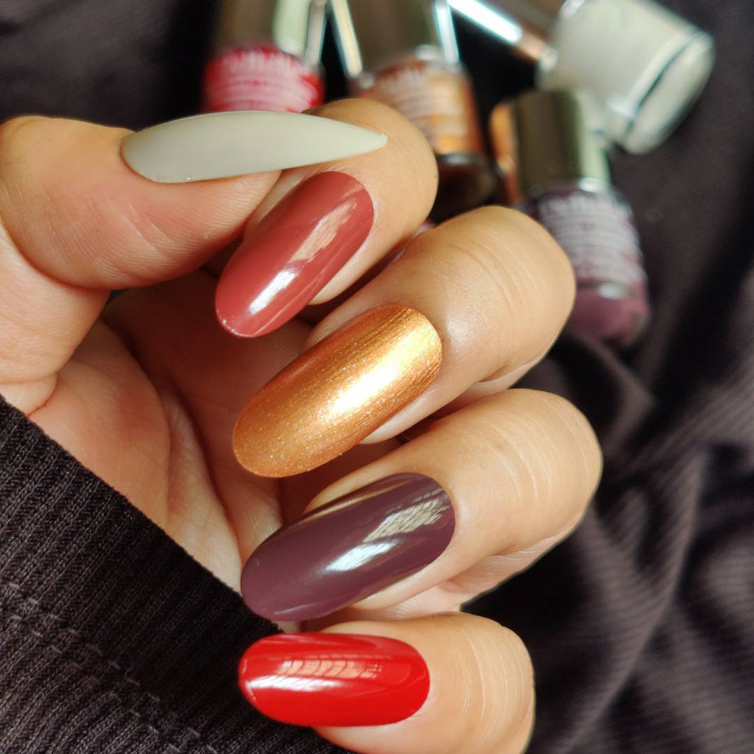 DeBelle Gel Nail Lacquers - Amber Skittles