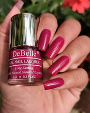 Load image into Gallery viewer, Dark Magenta nail Polish shade india