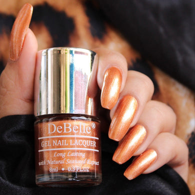 trendy rose gold nail polish shade india online