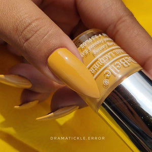 DeBelle Gel Nail Lacquer Yellow Topaz - Mustard Yellow