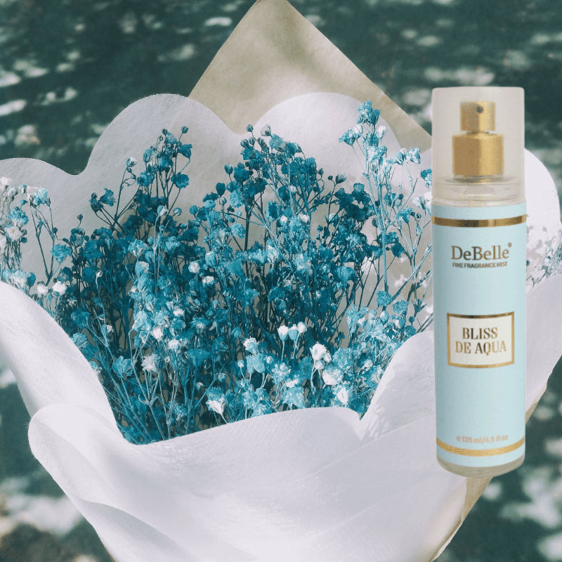 DEBELLE FINE FRAGRANCE BODY MIST BLISS DE AQUA