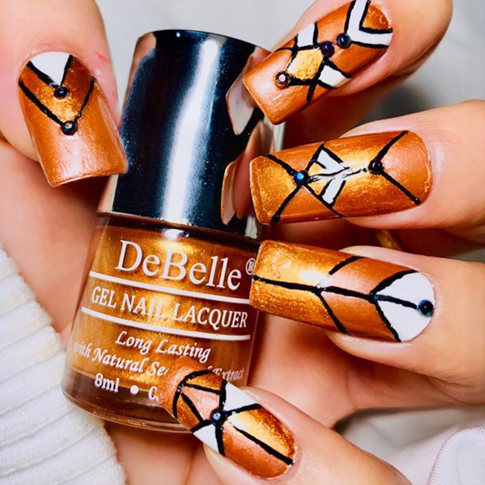 DeBelle Gel Nail Lacquer Rustique Copper