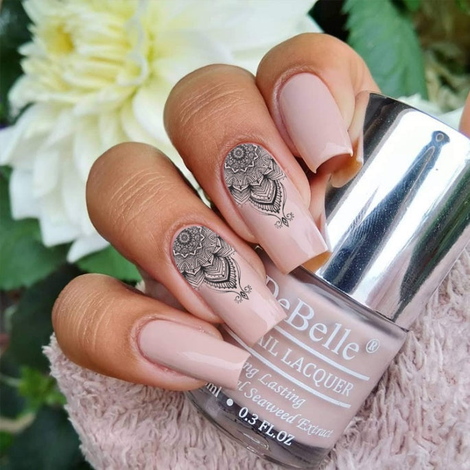 DeBelle Gel Nail Lacquer Peony Blossom