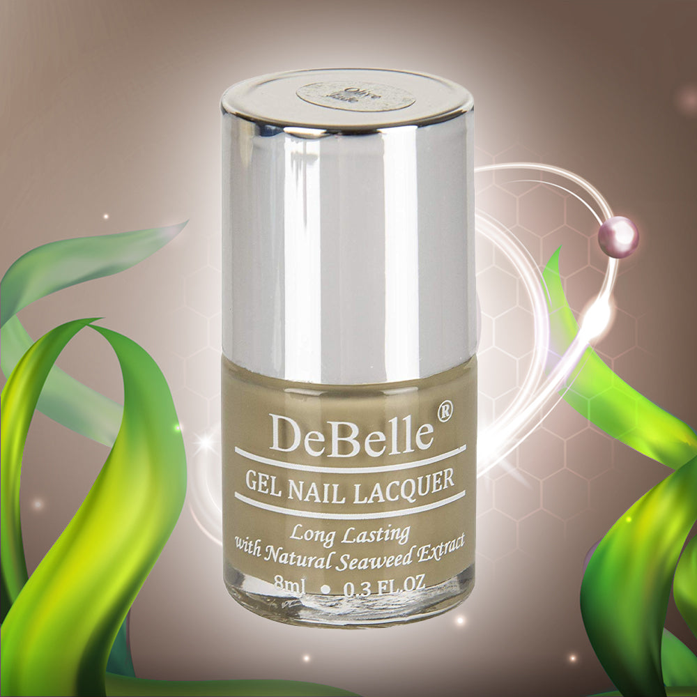 DeBelle Gel Nail Lacquer Olive Jade