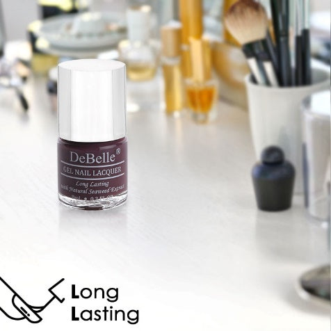 DeBelle Gel Nail Lacquer Plum Toffee