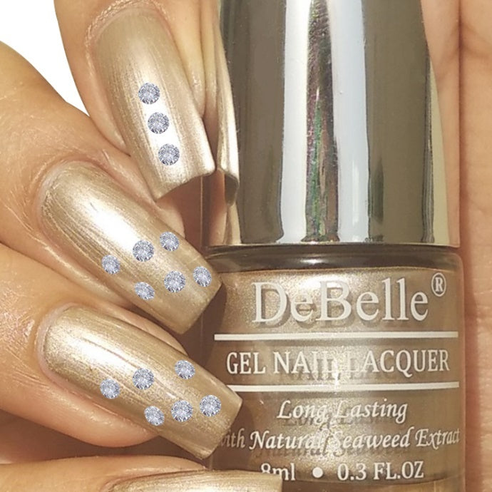 DeBelle Gel Nail Lacquer Chrome Beige