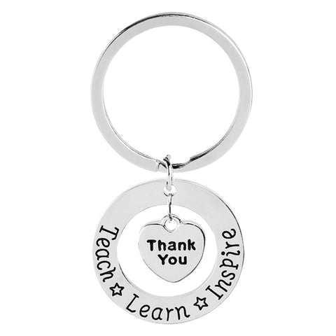 Teach * Learn * Inspire Keychain