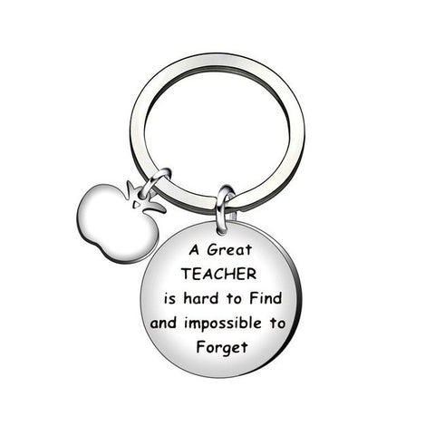 ''A Great Teacher Is Hard To Find And Impossible To Forget'' Teacher's Day Gift