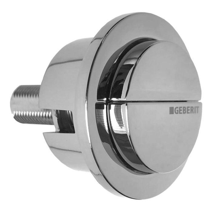 Geberit Impuls 290 Dual Flush Chrome Push Button 243.318.21.1 Geberit