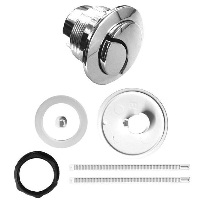 Ideal Standard / Armitage Shanks Alto Chrome Dual Flush Toilet Push Button EV201AA Ideal Standard Toilet Spares Ideal Standard