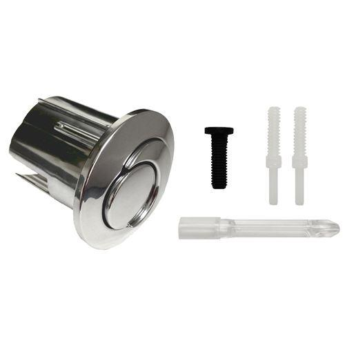 Roca D2D New Style Short Dual Flush Chrome Toilet Push Button AH0001800R Roca Toilet Spares Roca