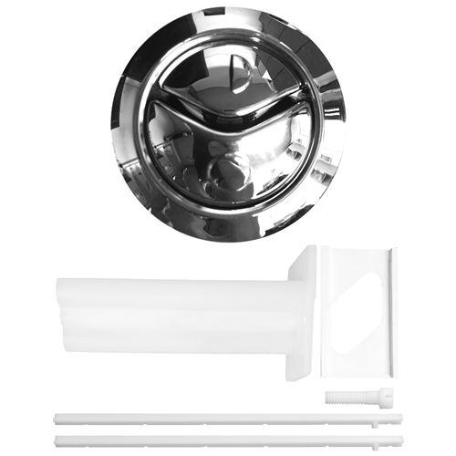 Thomas Dudley Niagara Dual Flush Chrome Toilet Push Button 314318 Thomas Dudley Toilet Spares Thomas Dudley