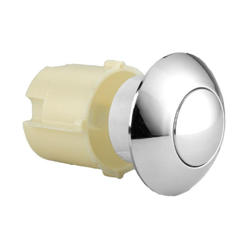 Thomas Dudley Pushflo / Derwent Macdee Large Dome 91mm Chrome Toilet Push Button 316562 Thomas Dudley Toilet Spares Thomas Dudley