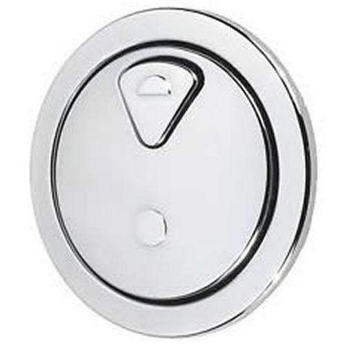 Thomas Dudley Vantage Dual Flush 73.5mm Chrome Toilet Push Button 315921 Thomas Dudley Toilet Spares Thomas Dudley