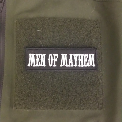 Men Of Mayhem Patch