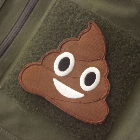 Poop Emoji Morale Patch