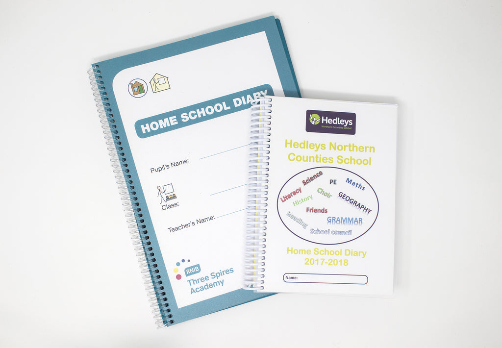 Case Study: SEN Visually/Hearing Impaired School Diaries