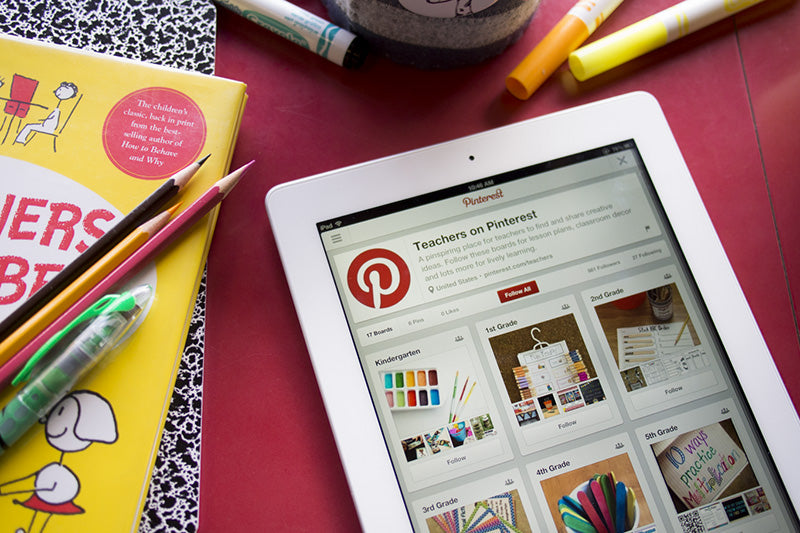 Top 10 Pinterest Accounts for Teachers