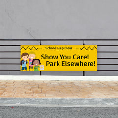 Outdoor Parking Banners