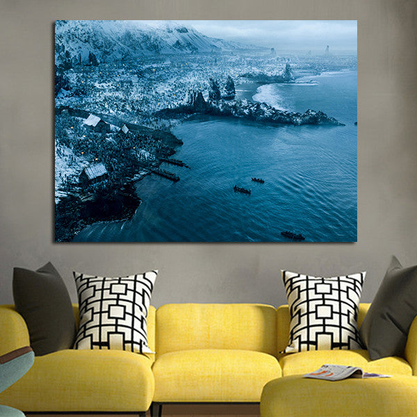 1 Panel Army in The Coast Wall Art Canvas