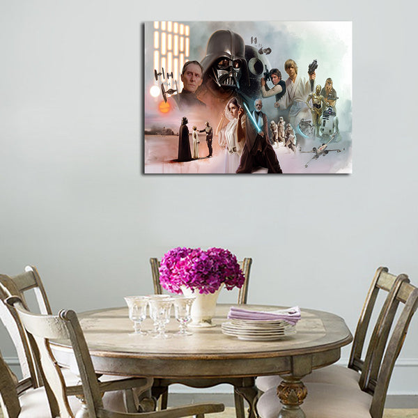 1 Panel Star Wars A New Hope Wall Art Canvas