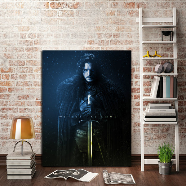 1 Panel Game Of Thrones Jon Snow Wall Art Canvas