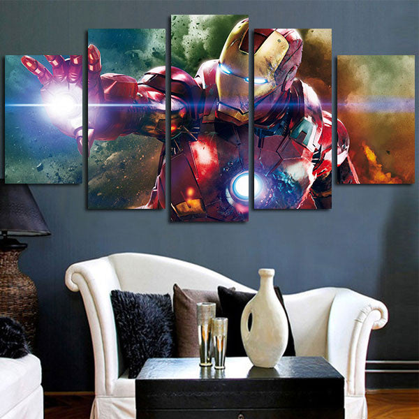 The Avengers Iron Man Wall Art Canvas