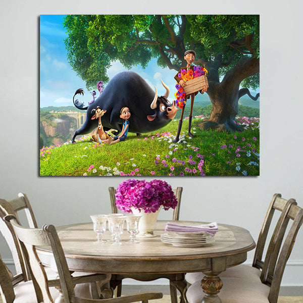 1 Panel Ferdinand And Friends Wall Art Canvas