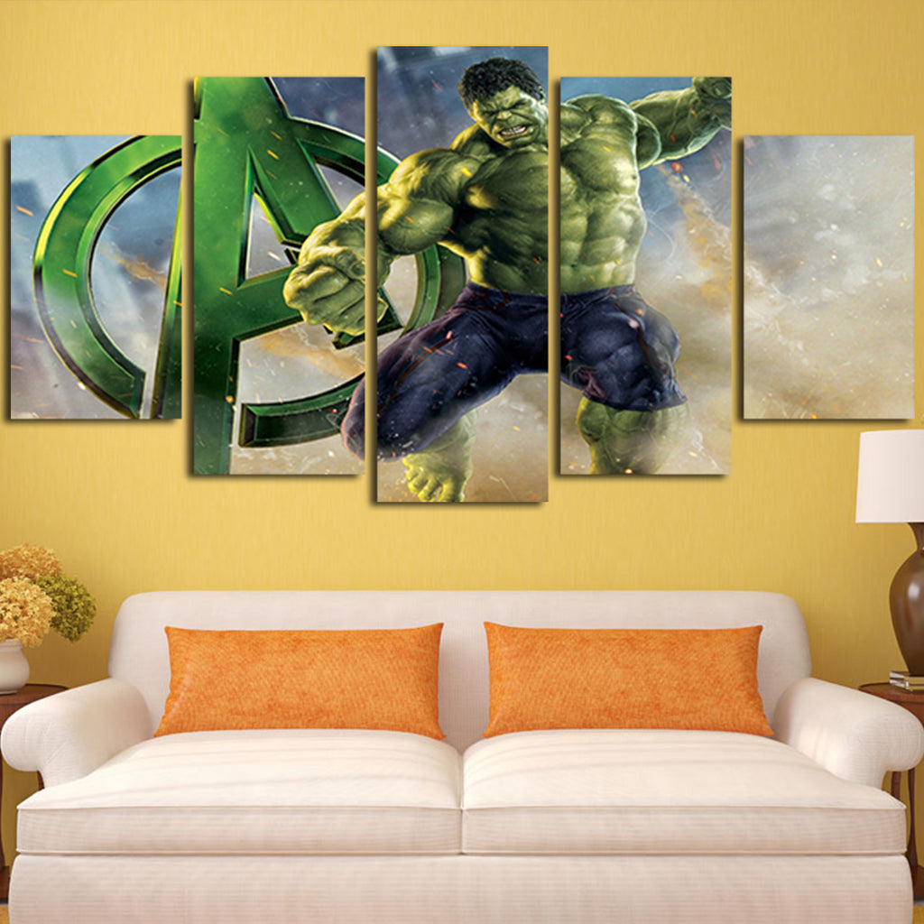 Enchanting Avengers 3d Wall Art Pictures - The Wall Art Decorations ...