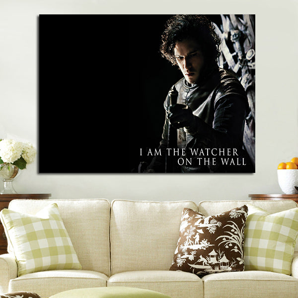 1 Panel I Am The Watcher On The Wall Wall Art Canvas