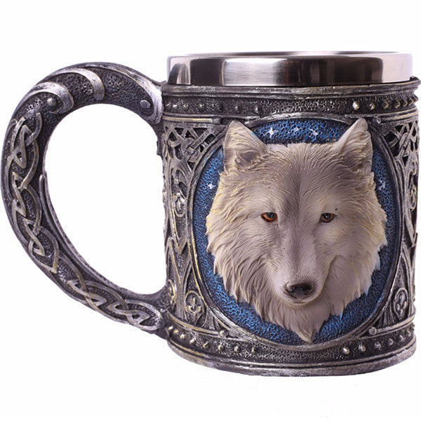 Game Of Thrones Ghost Wolf Mug