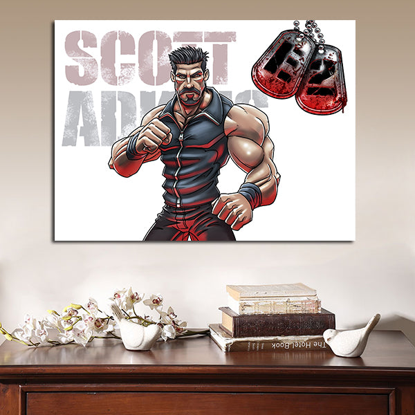 1 Panel Hector In The Expendables Wall Art Canvas