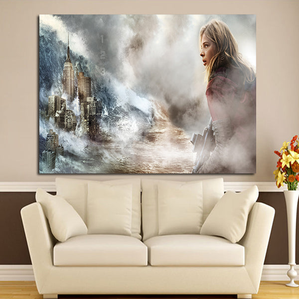 1 Panel Cassie Sullivan Character And Tower The 5th Wall Art Canvas